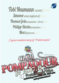 Club Pompadour - 2 Years Pratersauna