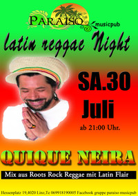 Latin Reggae Night