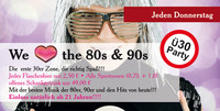 Ü30 Party - We love the 80s & 90s