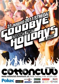 Students Party: Goodbye Holidays