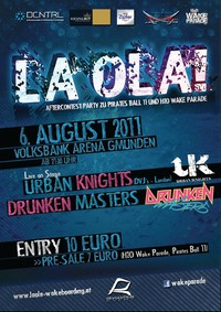 La Ola! Aftercontest Party von Wake Parade und Pirates Ball11