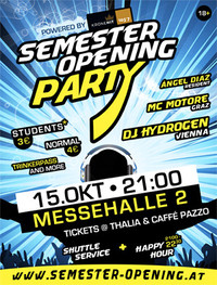 Semester Opening Party powered by Kronehit