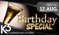 Birthday Special@K3 - Clubdisco Wien