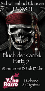 Fluch der Karibik Party 5