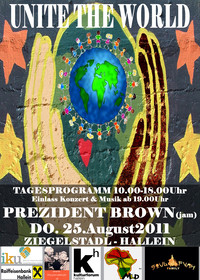 Unite the World Fest with Prezident Brown(jamaica)