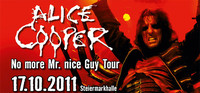 Alice Cooper - No more Mr. nice Guy Tour