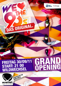 We love the 90s - Das Original - Grand Opening