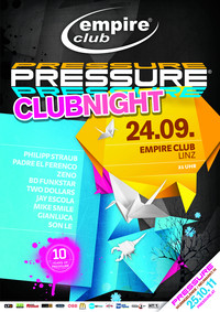 Pressure Club Night