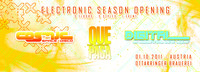 Electronic Season Opening - COSMIC,DIGITAL,QUE PASA
