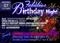 Birthday Night im Ballegro + Party Alarm