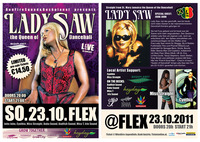 LADY SAW the Queen of Dancehall! 23.10.@ Flex Vienna