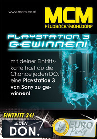 Playstation 3 Party