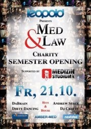 Med & Law und Medizinstudioum.at Charity Semester Opening