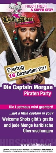 Die Captain Morgan Piraten Party