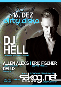 Dirty Disko with DJ Hell