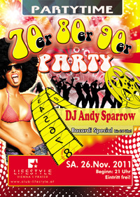 Partytime - 70er, 80er, 90er Party