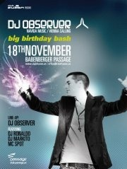 DJ Observer Birthday Bash