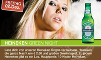Heineken green night