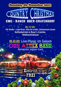 Country Christmas mit Don Attila Band