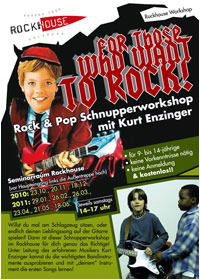 Rock & Pop Schnupperworkshop