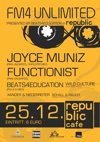 FM4 Unlimited Party pres. by Beats4Educatio