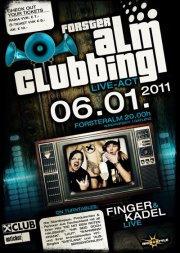 Finger & Kadel live @ Alm Clubbing