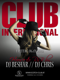 Club international Feat. DJ's Chris & Beshar