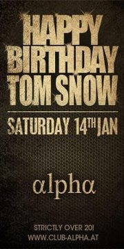 Tom Snows 8 Hour Birthday Session