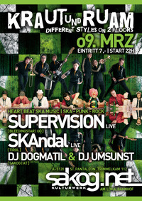 K&R - SKA Special mit Supervision live und Skandal live