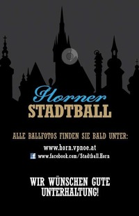 Horner Stadtball@Vereinshaus