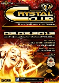 Crystal Club &#34;The Rhythm Experience&#34;