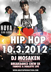 I love Hip Hop - Club Tour@Disco Nova