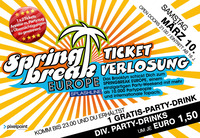 Spring-Break-Europe Ticket Verlosung