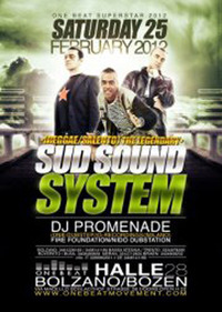 SUD SOUND SYSTEM+PROMENADE@ONE BEAT SUPERSTAR 2012-HALLE 28 (BZ)