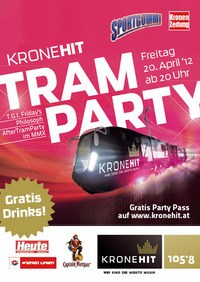 Kronehit Tram Party@Wien