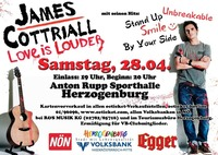 James Cottriall - Love is Louder Tour 2012@Anton Rupp Freizeitzentrum