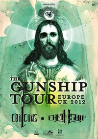 The Gunship tour 2012 - EU/UK - Coilguns & Earthship