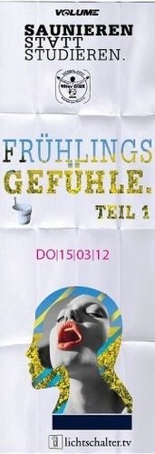 Saunieren statt Studieren - Frhlingsgefhle - Teil 1