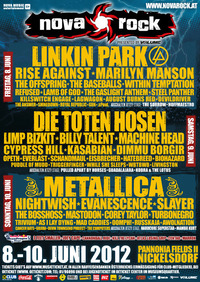 Nova Rock Festival 2012