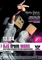 13.4.2012 - DJs from Mars (powered by Henry Village)