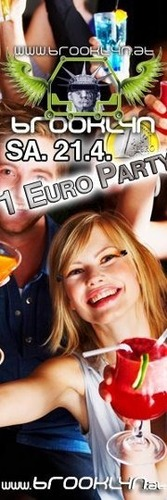 1 Euro Party m. Dj Christopher T. im Brooklyn (horn)