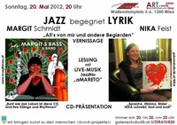Jazz begegnet Lyrik - Margit Schmidt & Nika Feist@Osteria Allora