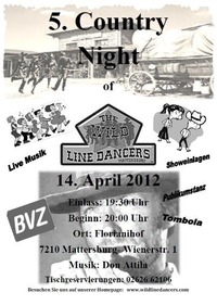 5. Country Ball Mattersburg mit Don Attila Band