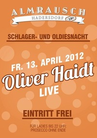 Oliver Haidt - live