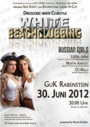 White Beachclubbing@GuK Rabenstein