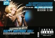 Happy Birthday XXL - refreshed@Arena Tirol