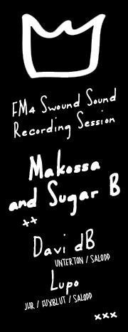 SALOPP! | FM4 Swound Sound Recording Session - Makossa & Sugar B