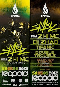 Sweat pres. Symbiz Sound ft. Zhi Mc + Dj Zhao Uvm.