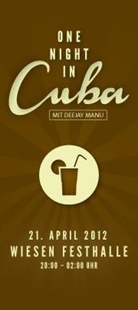 One Night in Cuba