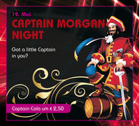 Captain Morgan Night